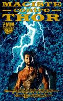Cover Maciste contro Thor, di Alessandro Girola