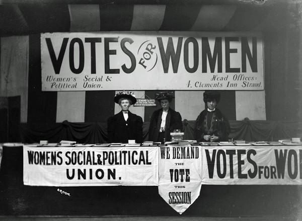 Rappresentanza del WSPU a Londra