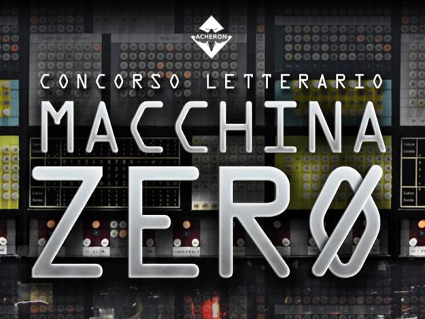 Header Concorso letterario Macchina Zero