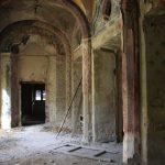 Villa De Vecchi. Gli interni come erano nel 2011.