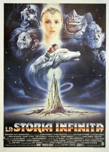 Locandina de La storia infinita, film di Wolfgang Petersen (1984) da un romanzo di Michael Ende