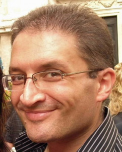 Alberto Cola, autore di Asad e il segreto dell'acqua (Piemme)