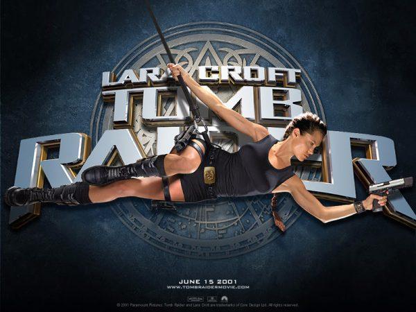 Videogame: Angelina Jolie è Lara Croft, nei film Tomb Raider (2001) e Tomb Raider - La culla della vita (2003).