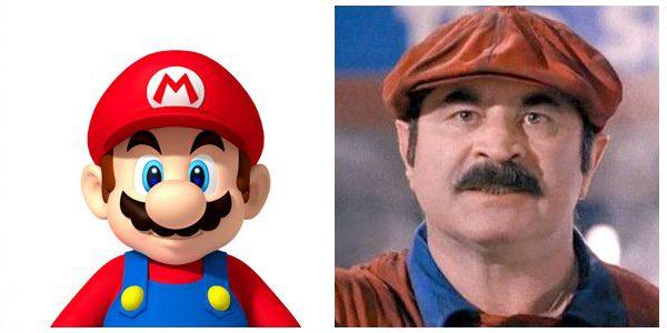 Videogame: Bob Hoskins è il mitico Mario Bros nel film Super Mario Bros. (1994).