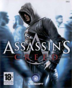 Assassin's Creed, la copertina del primo videogioco della saga