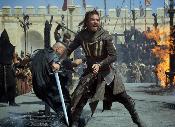 Assassin's Creed: Una scena dal film