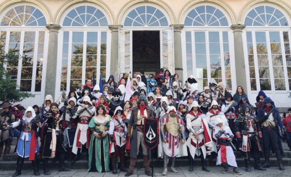 Assassin's Creed: cosplay alla fiera Lucca Comics & Games