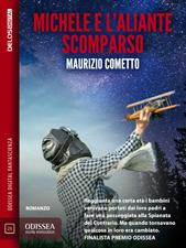 mini-cover Michele e l'aliante scomparso , di Maurizio Cometto (Delos, 2016)