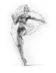Il Mutafavole e l'Ombra del Primo Buio: Rebecca. Illustrazione di Iacopo Donati.