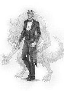 Il Mutafavole e l'Ombra del Primo Buio: Rufus. Illustrazione di Iacopo Donati