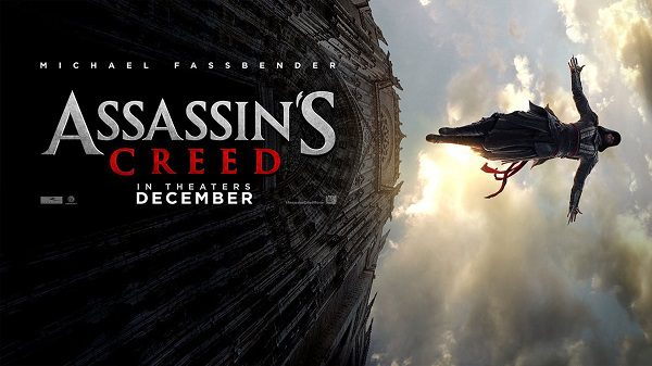 Assassin's Creed il film 2016 poster title