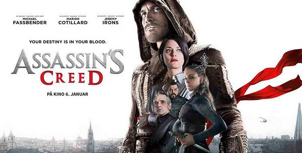 Assassin's Creed il film: poster estero