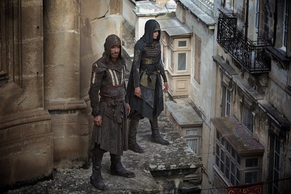 Assassin's Creed il film: una scena sui tetti