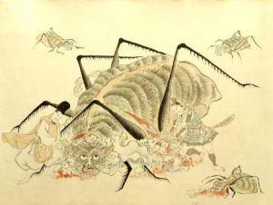 Il ragno nel fantastico: Tsuchimugo Yokai, dal folklore giapponese.