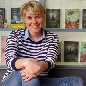 Francesca Caldiani, autrice del romanzo di fantascienza per ragazzi Jonas Grinn (Watson)