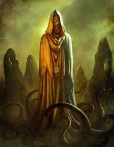 Hastur o Il Re in giallo - Fonte di ispirazione per il racconto horror Veduta di Carcosa, di Alessandro Girola