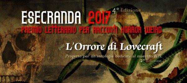 Concorsi letterari estate 2017: Esecranda 2017