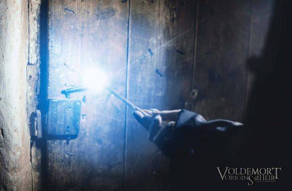 Una scena tratta dal fan film Voldemort: Origins of the Hair
