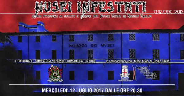Locandina Musei Infestati Percorsi di gotico e orrore 2017