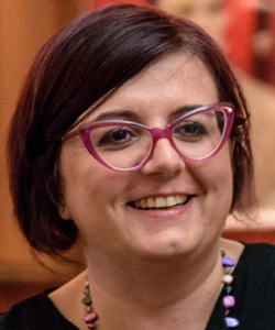 Anna Giraldo, autrice del romanzo Meet you on the other side: Un luogo del cuore