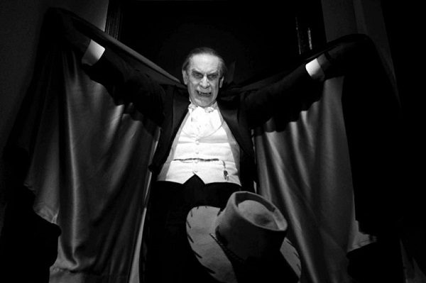 Martin Landau come Bela Lugosi nel film Ed Wood