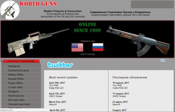 Conoscere le armi da fuoco per scrivere scene d'azione - ModernFirearms.net