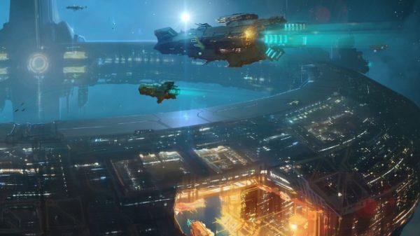Racconti di fantascienza: stazione spaziale