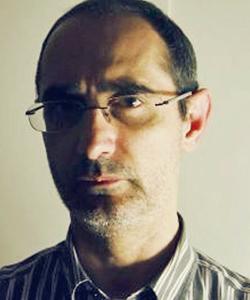 Lo scrittore Luigi Milani, autore del racconto Il demone di carta (Graphe.it)