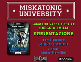 Presentazione Hydrostasis alla libreria Miskatonic University