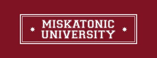 Hydrostasis alla Miskatonic University logo