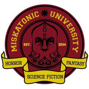 Hydrostasis alla Miskatonic University: logo della libreria
