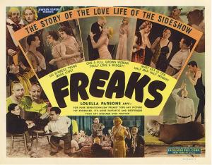 Locandina di Freaks di Tod Browning