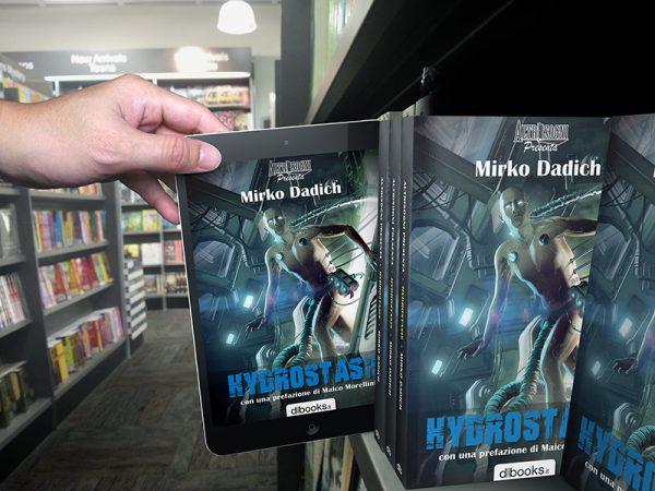 Hydrostasis alla libreria Vecchi e Nuovi Mondi (Torino), Sabato 17 Marzo 2018