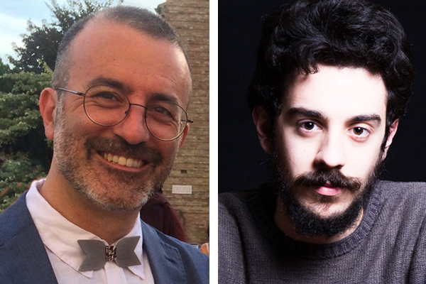 Sergio Rossi e Giovanni Scarduelli, autori della graphic novel Nikola Tesla, in uscita il 17 Maggio per BeccoGiallo.