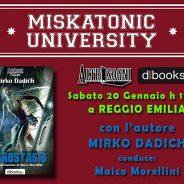 Il 20 gennaio Altrisogni e Hydrostasis alla libreria Miskatonic University
